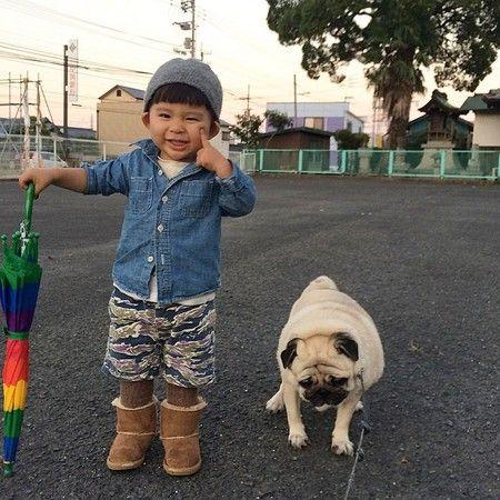 小男孩背影头像可爱帅萌图片
